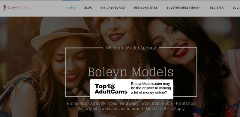 Boleyn Models Screenshot